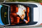 BMW 650 cabrio white hameleon