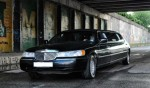 Lincoln Town Car exclusive black